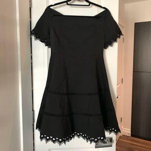 "NWT Chicwish ""Grace Around You"" Black Dress Size M"